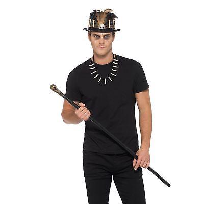 Hommes Voodoo Kit Sorcier-Docteur Magie Noire Déguisement Halloween Accessoire
