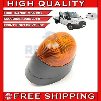 FORD TRANSIT MK6 MK7 FRONT RIGHT SIDE INDICATOR REPEATER LIGHT LAMP 2000-2014