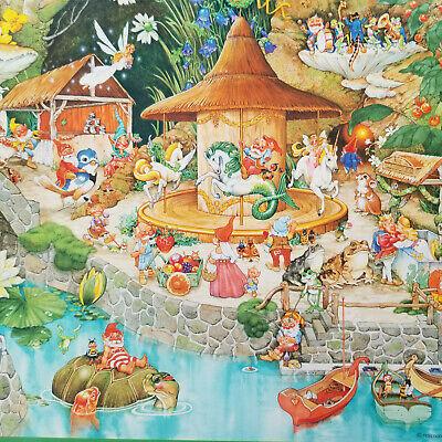 Vintage Springbok At The Wee Folk's Fair Jigsaw Puzzle 1000pcs