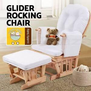 Glider Baby Breast Feeding Sliding Rocking Chair with Ottoman Brisbane City Brisbane North West Preview