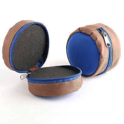 Fly Fishing  Zippered Reel Pouch, Trout, Salmon ,