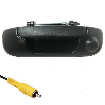 Dodge Ram 2002-2008 Black Tailgate Handle with Color Backup Camera BRAND NEW