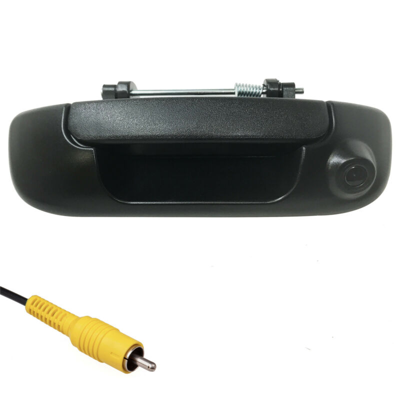 For Dodge Ram (2002-2008) Black Tailgate Handle with Backup Camera