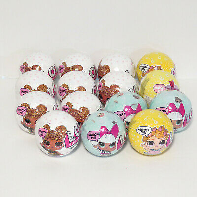 Lot of 15 LOL Surprise Dolls Series 1 3 Glitter -  New Factory Sealed Balls