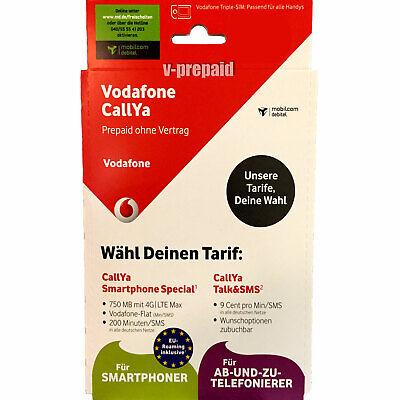 0174 575 **** Mobilcom Debitel D2 Callya Prepaid Talk&SMS Sim Karte gebraucht kaufen  Leipzig
