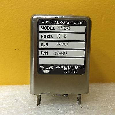 Vectron 217y0773 850-1012 10 Mhz Precision Crystal Oscillator
