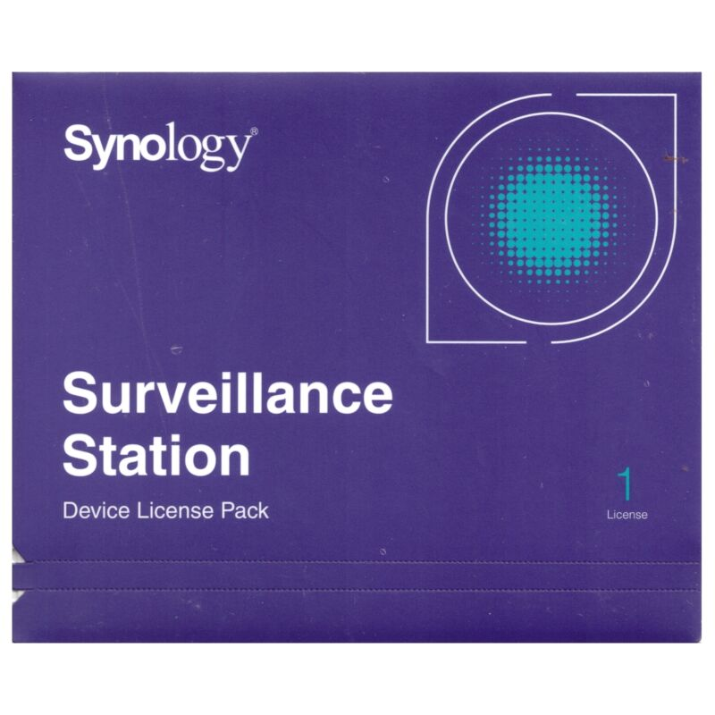 Synology IP Camera 1-License Pack Kit for Surveillance Station - DS418 DS2419+
