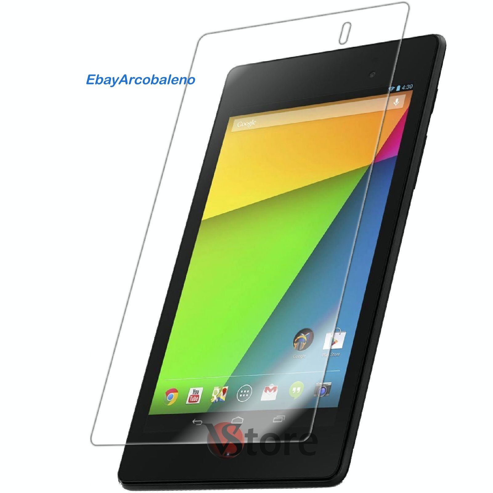 "PELLICOLA PROFESSIONALE PER ASUS GOOGLE NEXUS 7 7"" DISPLAY LCD TOUCH SCREEN"