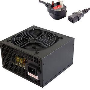 600 W Watt PSU ATX Power Supply Power X3 PCI Express Molex Sata CPU Sumvision
