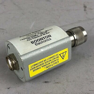 Boonton 51071 Power Sensor 10 Mhz - 26.5 Ghz 50 Ohms 300 Mw