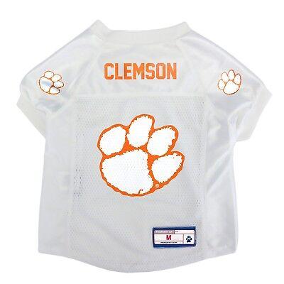 Clemson Tigers Dog Jersey - NEW CLEMSON TIGERS DOG PET PREMIUM JERSEY w/NAME TAG LE