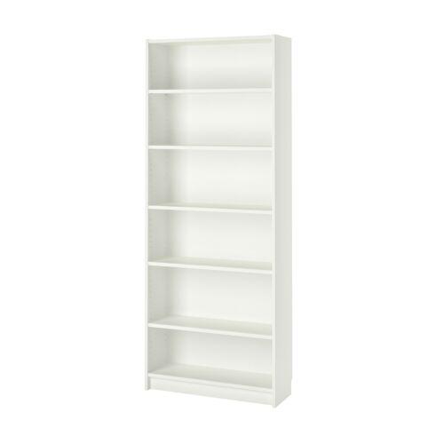 "BILLY Bookcase, white 31 1/2x11x79 1/2 "" NEW"