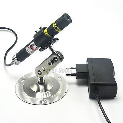 Focusable 405nm 120mw Cross Blueviolet Laser Diode Module W5v Adapter Holder