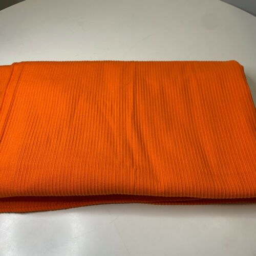 vintage bedspread coverlet orange ribbed size full fashion manor no iron usa
