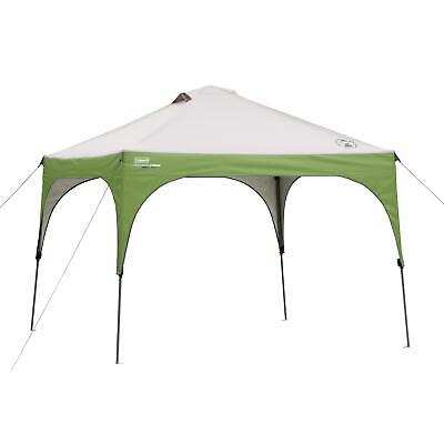 Coleman 10x10 Instant Canopy Sun Shade Tent with 3 Minute Se
