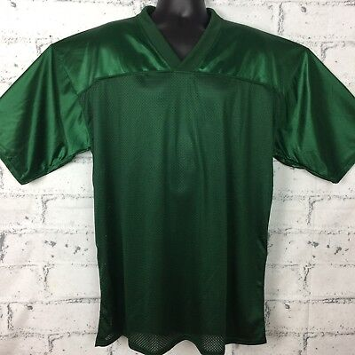 849091d2a10 Reebok NFL Football Blank Jersey Dark Green (Practice or Scrimmage) Size  Large
