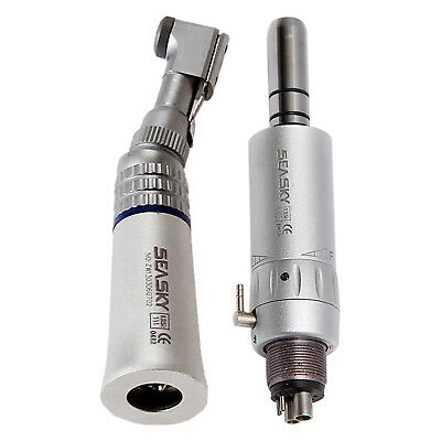 Fit Nsk Dental Slow Low Speed Handpiece Contra Angle E-type Air Motor 4h Seasky