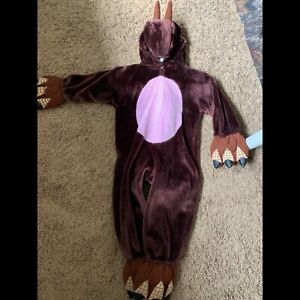 Dinosaur costume . Very thick and warm sz 3-4T
