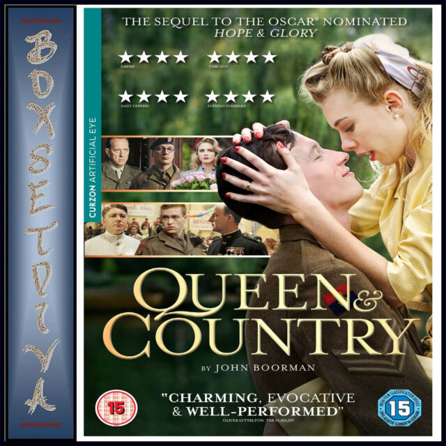 QUEEN & COUNTRY - Callum Turner ***BRAND NEW DVD***
