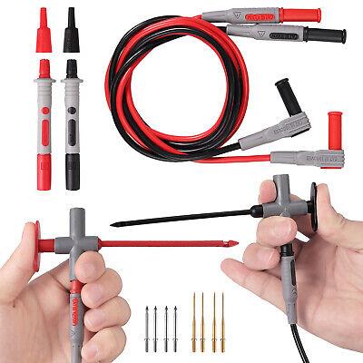 14 In 1 Multimeter Test Lead Kit Tester Extension Line Probe Clip Tip For Fluke