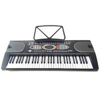 Tastiera Elettronica Keyboard Mk2085 61 Tasti Lcd Usb Intelligence Teaching Demo - intel - ebay.it