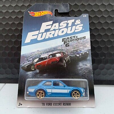 Hot Wheels Fast & Furious 6 '70 Ford Escort RS1600 6/8