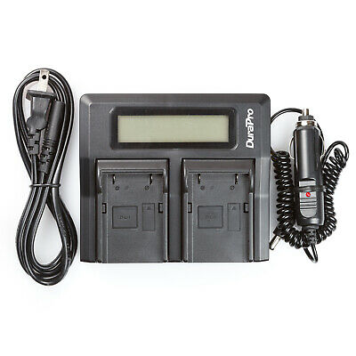 Lcd Dual Rapid Battery Charger For Trimble 5800 54344 Survey Gps Pentax Ei-d-li1