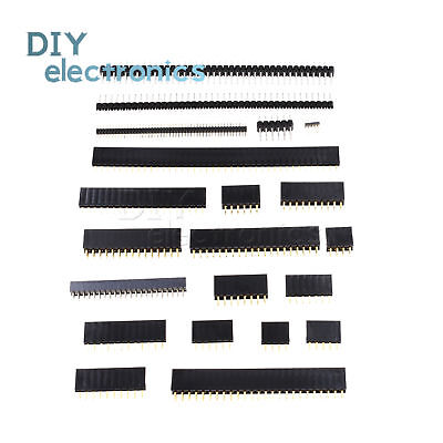 4pin To 50 Pin Singledouble Row Straight Male Female Pin Header Connector Us