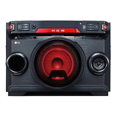 LG OK45 Kompaktanlage CD USB Bluetooth Radio 220W RMS MP3 Karaoke Funktion