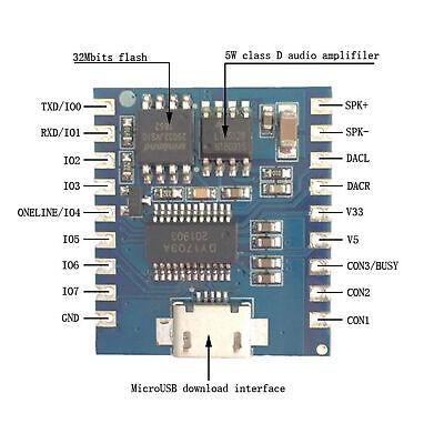 MP3 Player Control Voice Module Serial Port Voice Module Playback board AHS Serial Port Control