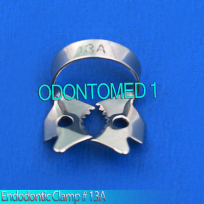 3 Endodontic Rubber Dam Clamp 13 A