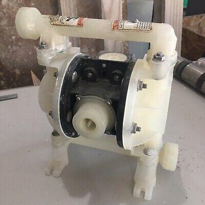 Aro Pd03p-aps-paa Double Diaphragm Pump Polypropylene Air Operated 14 100 Psi