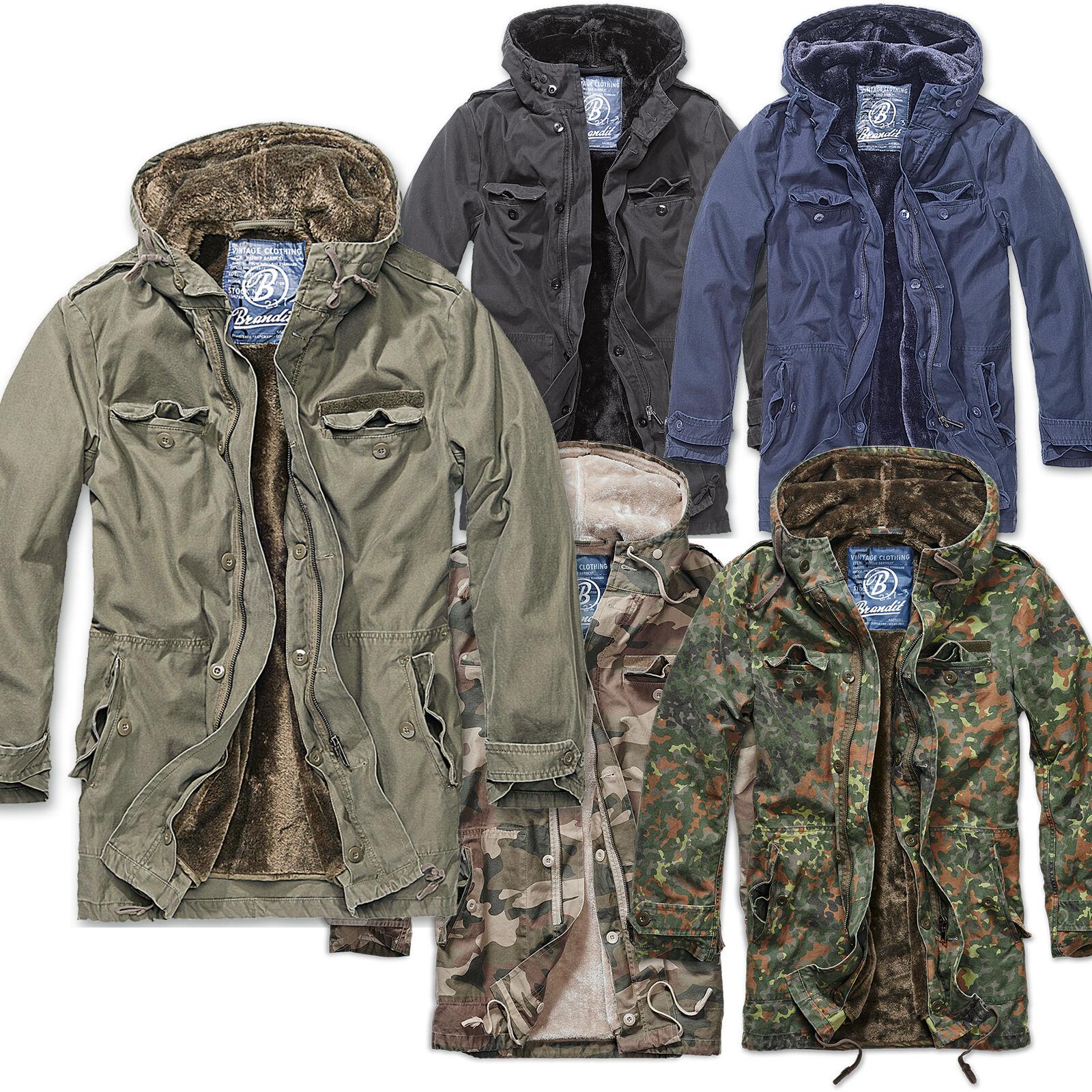 Details about Brandit Bw Parka Mens Jacket Autumn Winter Winter Jacket Army Bundeswehr Army show original title