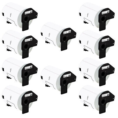 10 Rolls Of Dk-1241 101mm X 152mm 4 X 6 Shipping Labels For Brother Ql-1100