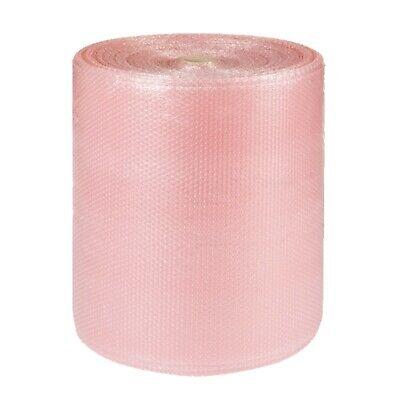 3 x 500mmx100m High Quality PINK ANTI STATIC Small Polythene Bubble Wrap