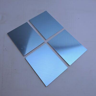 .3125 Thick 516precision Cast Aluminum Plate 5 X 7.875 Long Qty 4 Sku208502