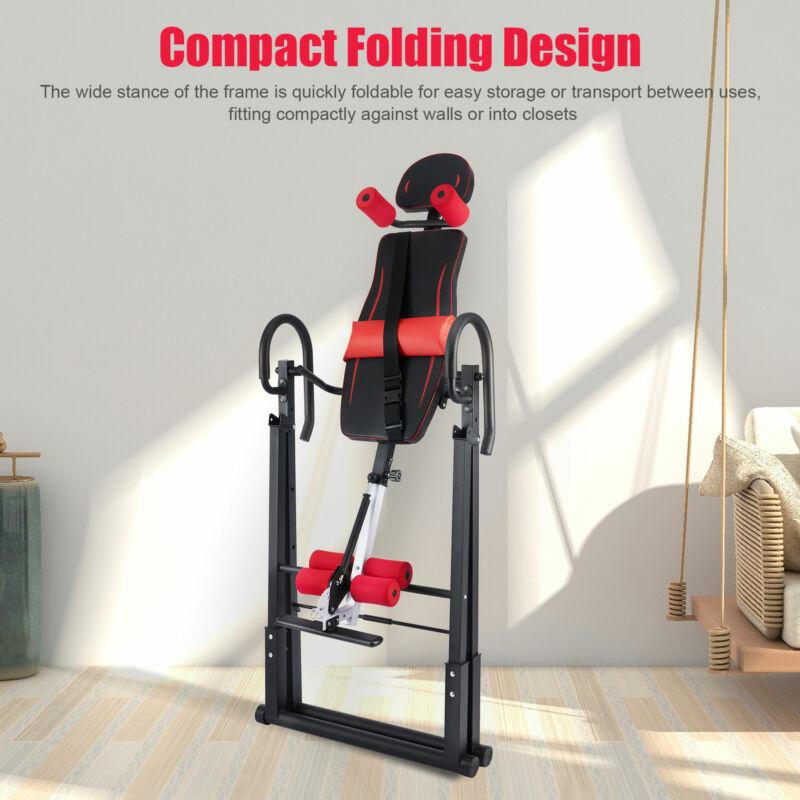 foldable gravity inversion table back stretcher