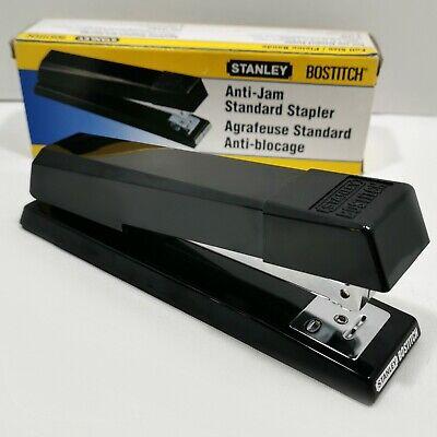 Stanley Bostitch Anti-jam Standard Desktop Stapler Full-strip Black B660 Nos Nib