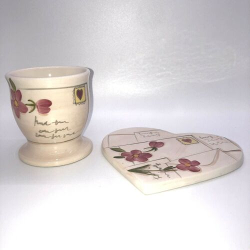 BATH AND BODY WORKS: Candle Plate and Holder Limited Edition Spring 1999 Set