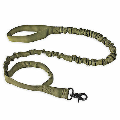 K9 Dog Leash Police Tactical Training 1000d ny Elastic Bungee Military Canine DJ ()