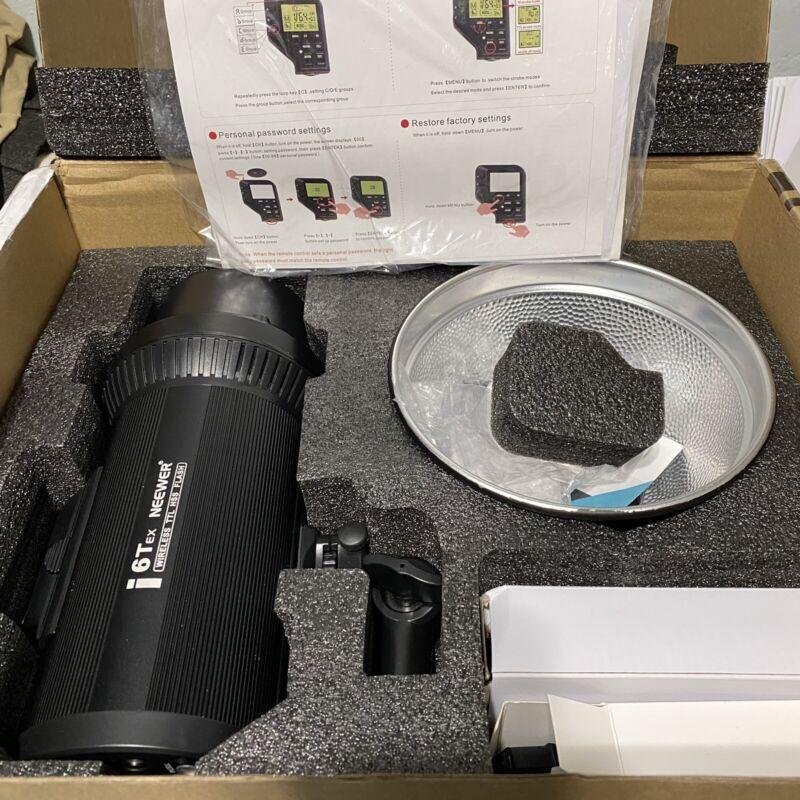 Neewer i6T EX 600W 2.4G TTL Studio Strobe 1/8000 HSS Flash Monolight for Canon