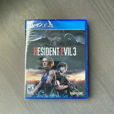 Resident Evil 3 Remake / Resistance PS4 PlayStation 4 Brand New Factory Sealed!