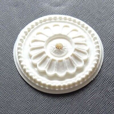 82 Mm Rose (1:12 Scale Federal Ceiling Rose 82mm Dia x 12mm High)