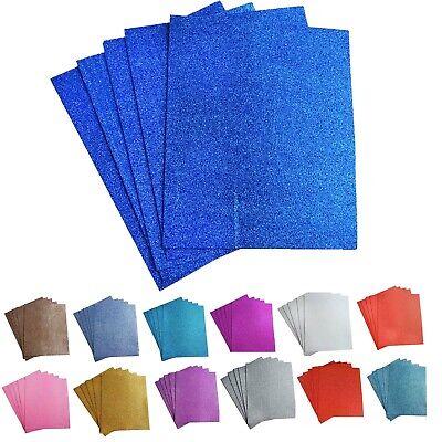 """10 Pack 12""""X 10"""" DIY Craft Foam Sheets Ultra Fine Glitter Fo"""