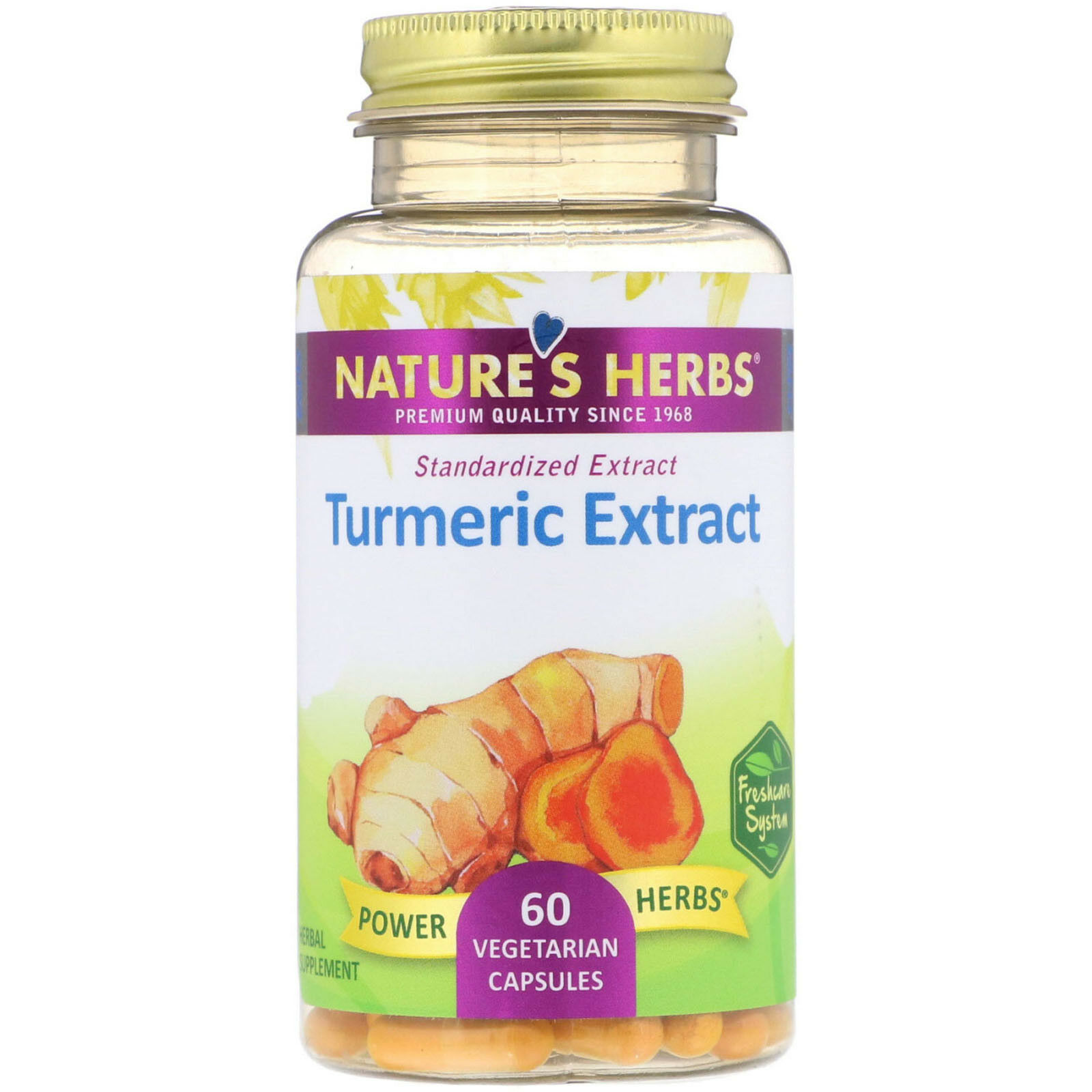 Turmeric Root Extract 300mg Solaray 60 Caps