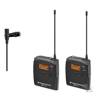 Sennheiser EW 112-P G3 Wireless Portable Lavalier Microphone Set EW112P Band G
