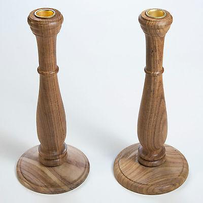 Kerzenleuchter 2 Stück Kerzenständer Kerzenhalter Holz