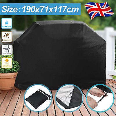 Extra Large BBQ Cover Heavy Duty Waterproof Barbecue Garden Grill Protector 190