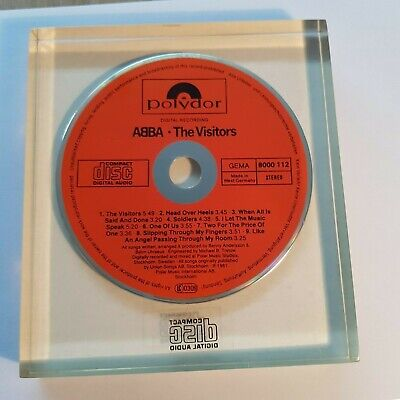 ABBA - THE VISITORS 1982 POLYDOR ULTRA RARE CD!