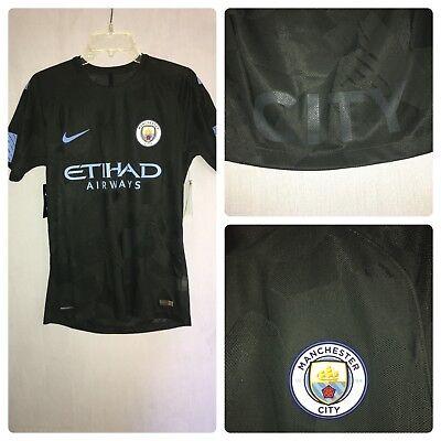 3397394d5ec21 Nike Manchester City FC Vapor Match Third Soccer Jersey Size Medium